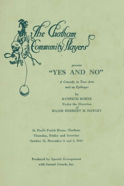 Yes and No (1940)