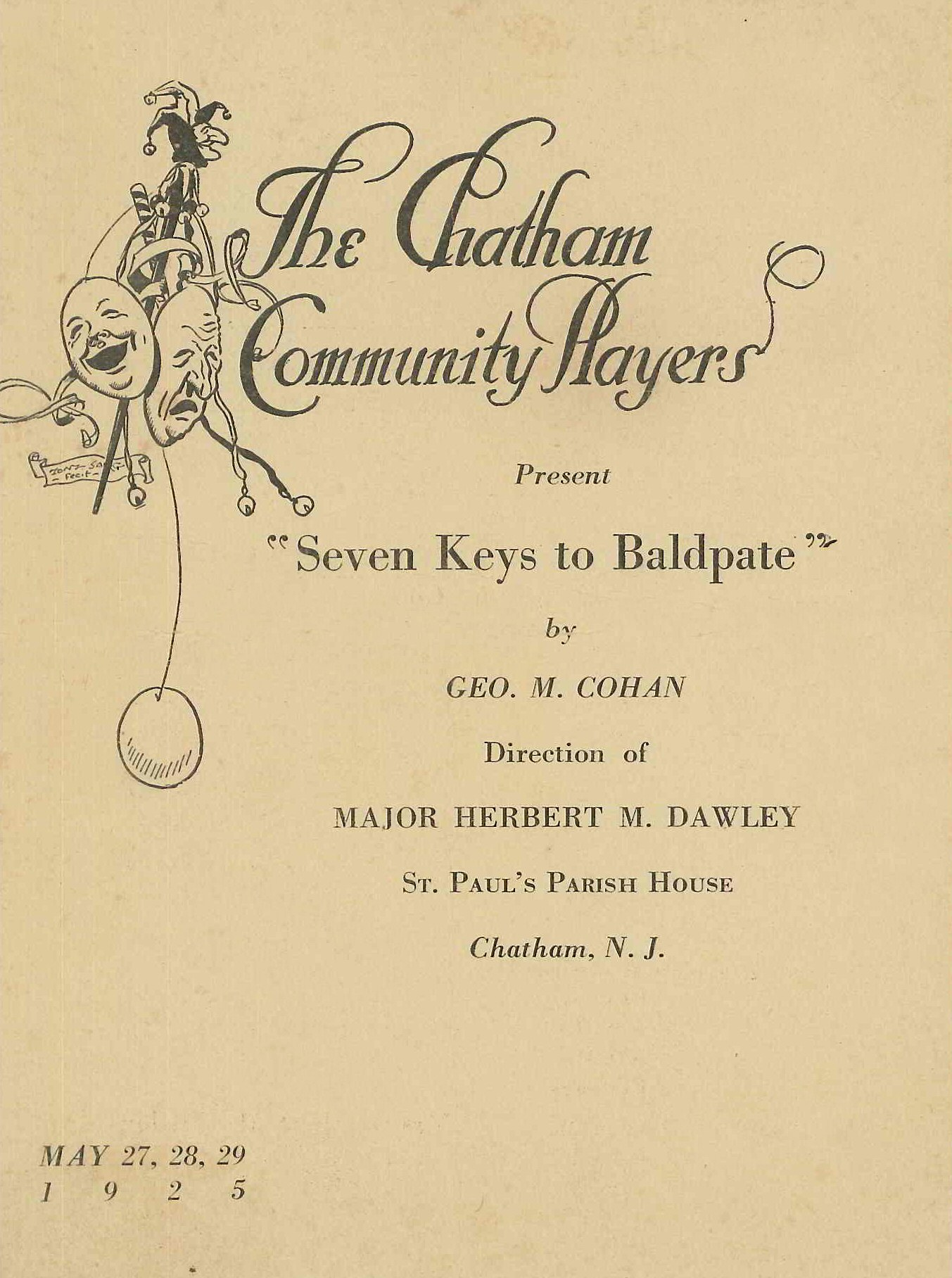Seven Keys To Baldpate (1925)