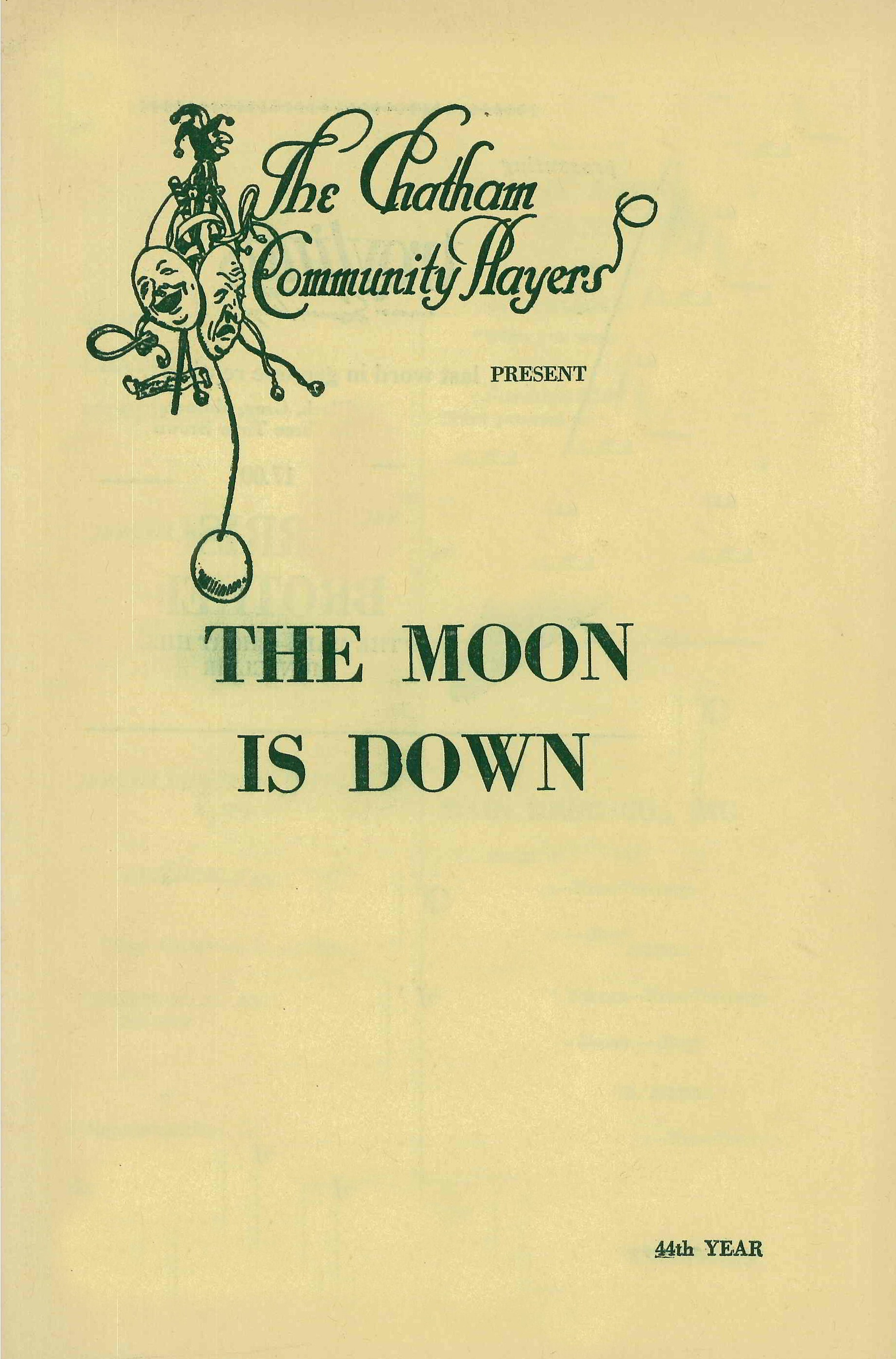 The Moon Is Down (1966)