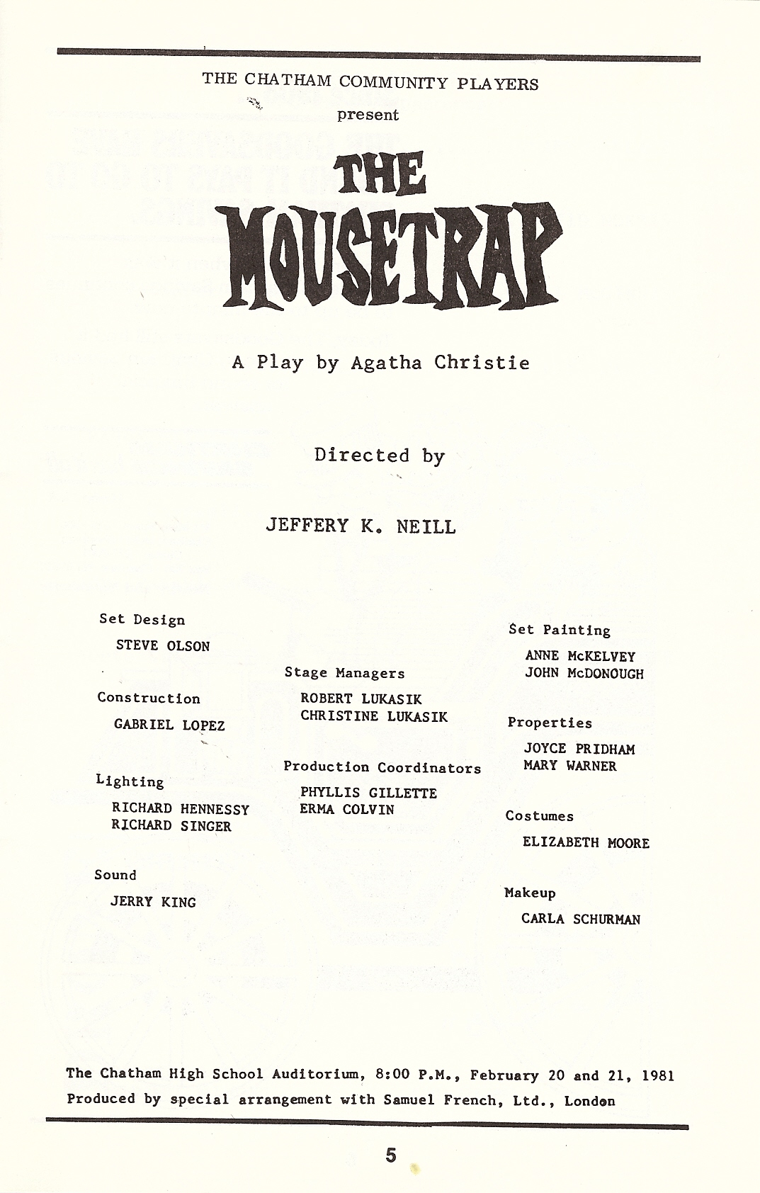 The Mousetrap (1981)