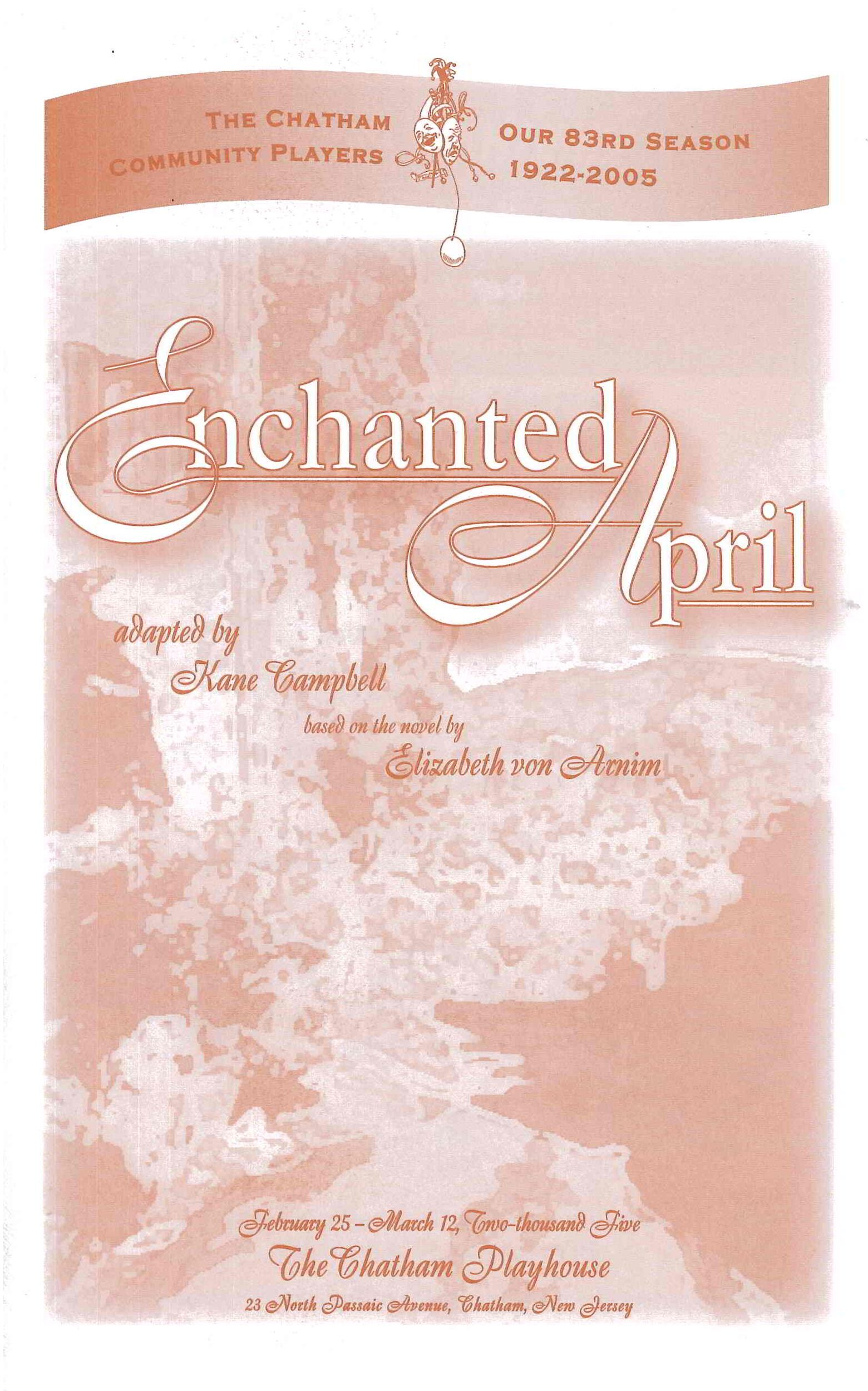 Enchanted April (2005)