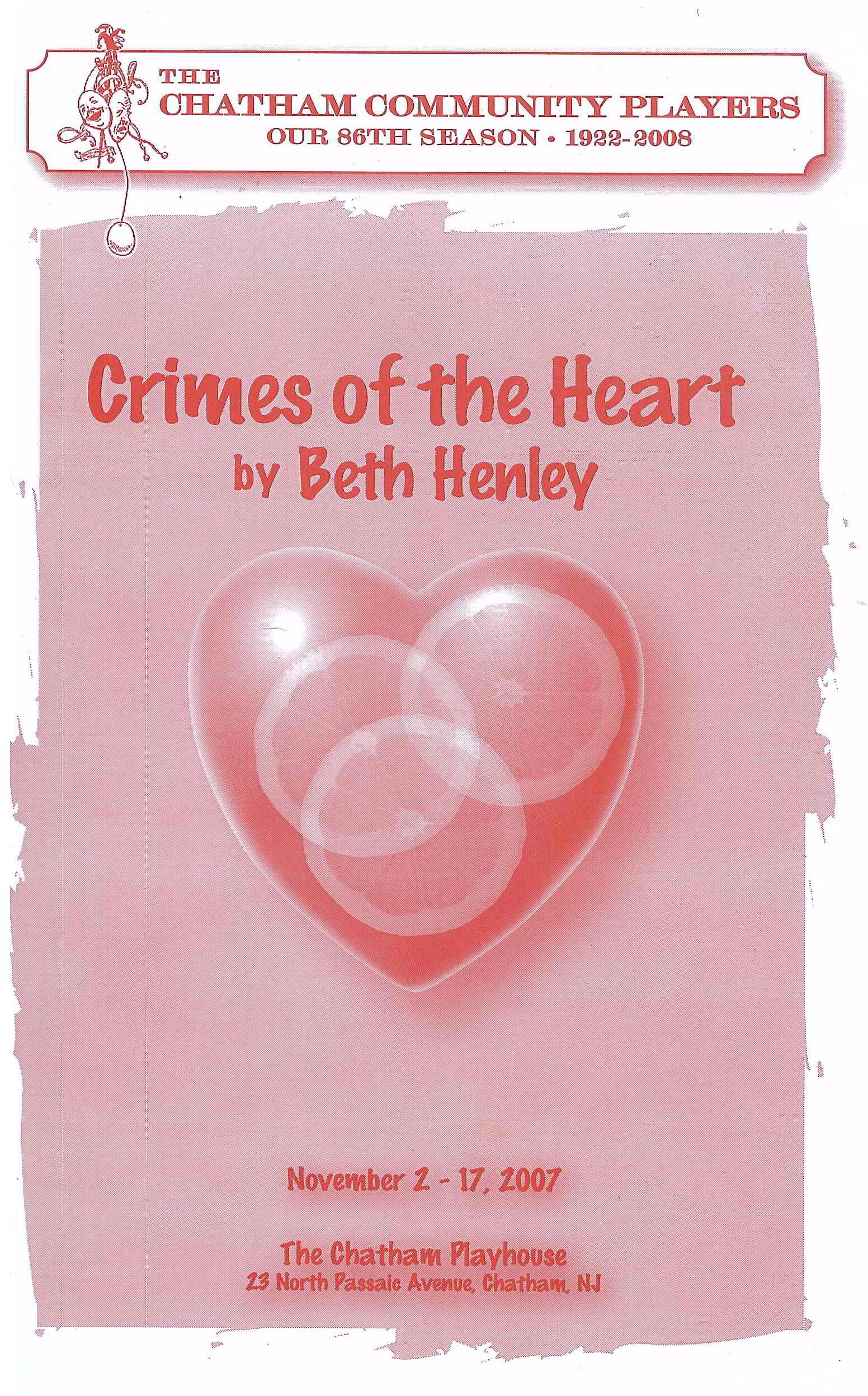 Crimes of the Heart (2007)