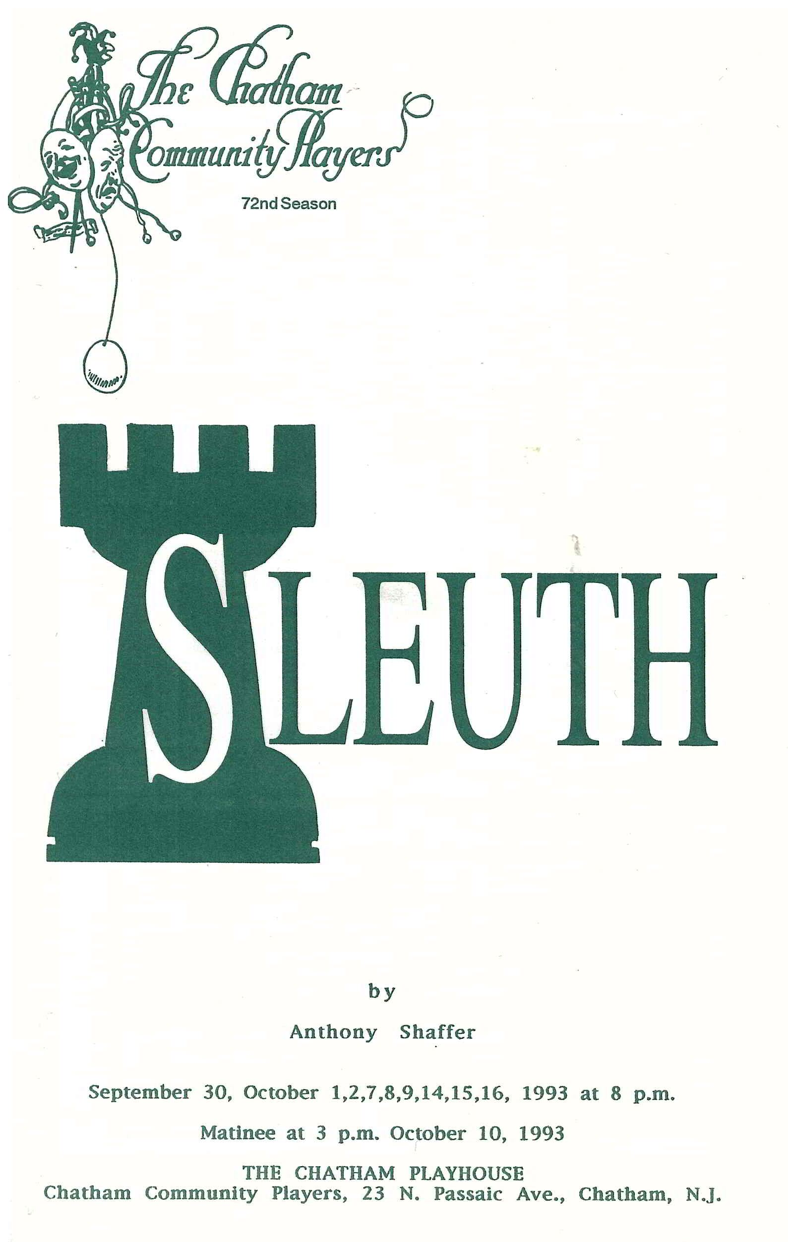 Sleuth (1993)