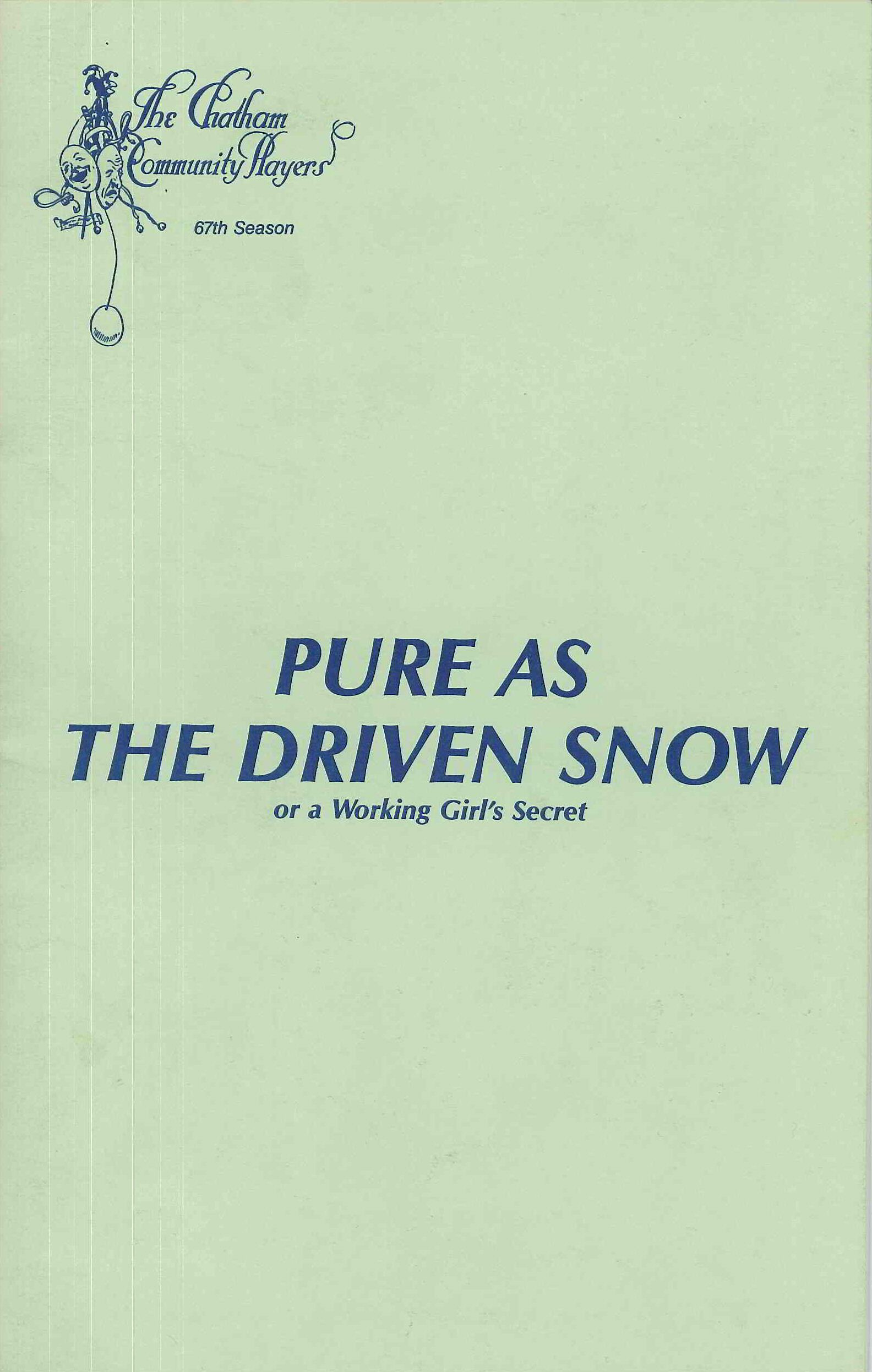 Pure As The Driven Snow (1988)