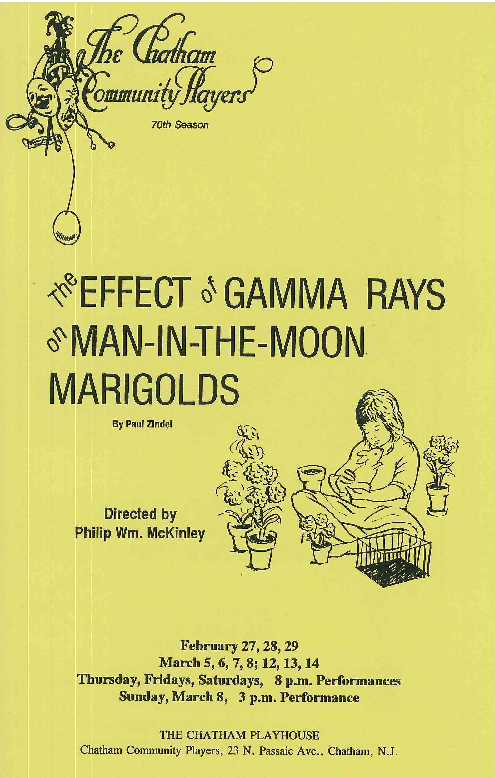 The Effect of Gamma Rays on Man-in-the-Moon Marigolds (1992)