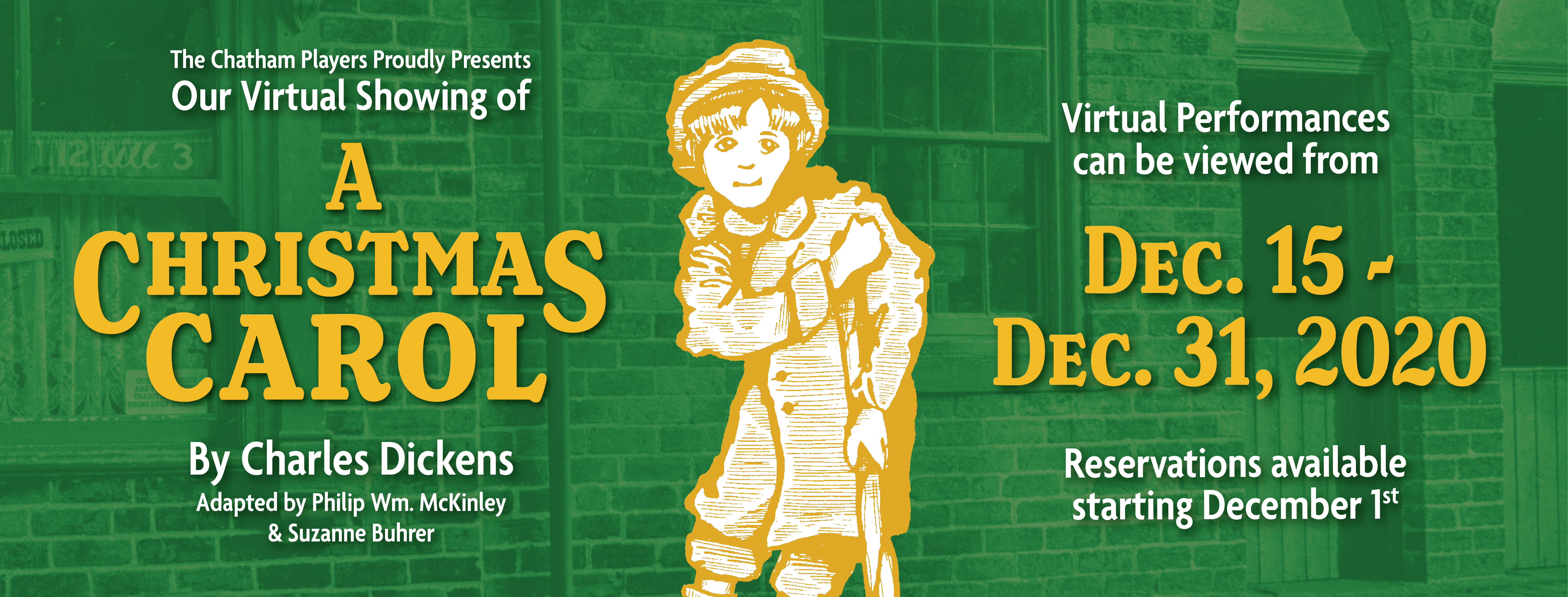 A Christmas Carol - Special Streaming Production