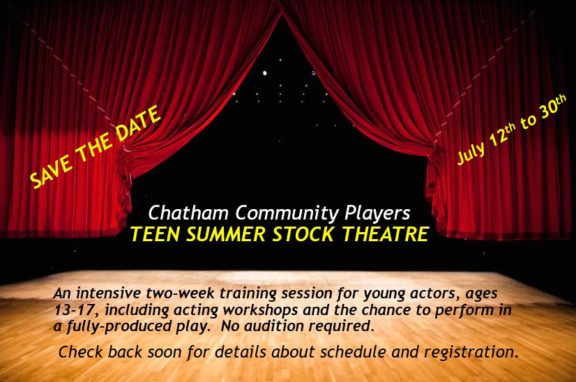 Teen Summer Stock Theatre