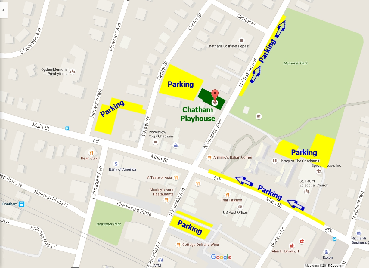 Chatham Playhouse Free Parking