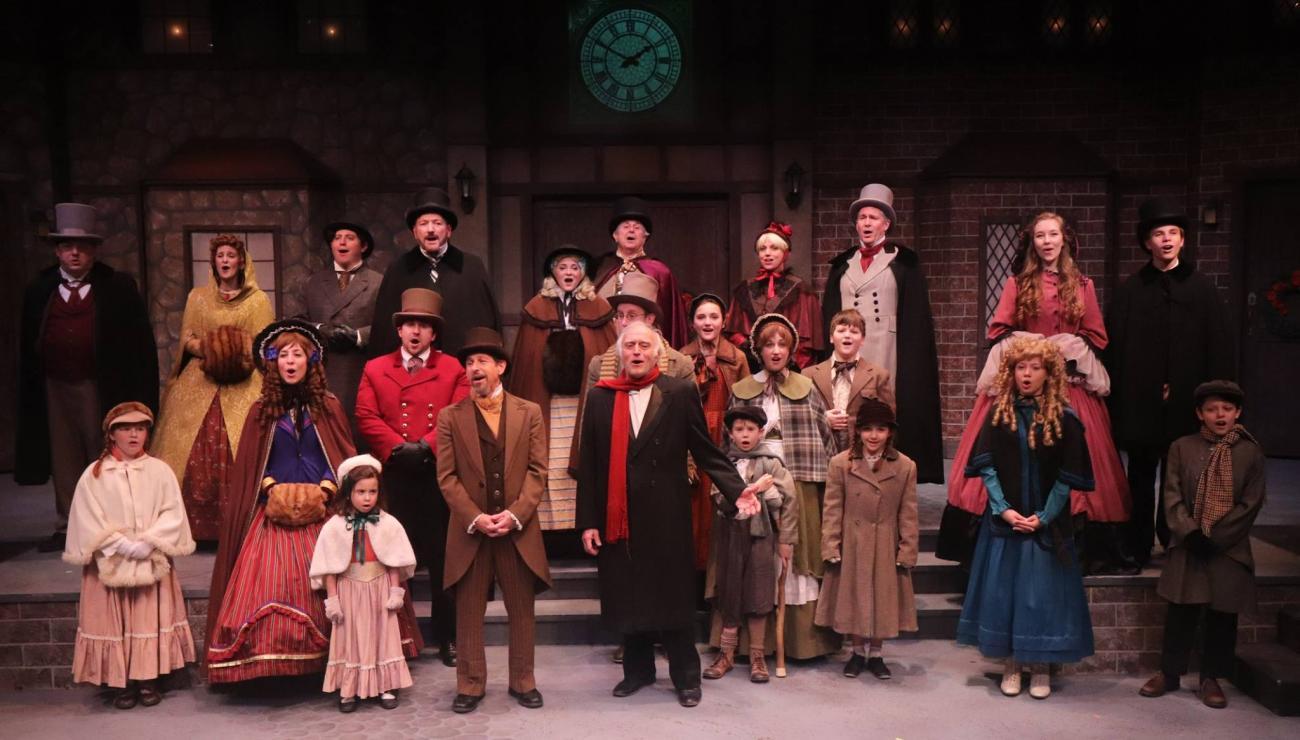 Christmas Carol Musical Script.A Christmas Carol Chatham Players