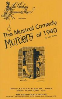 Musical Comedy Murders of 1940 (1991)