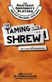 The Taming of the Shrew (2013)